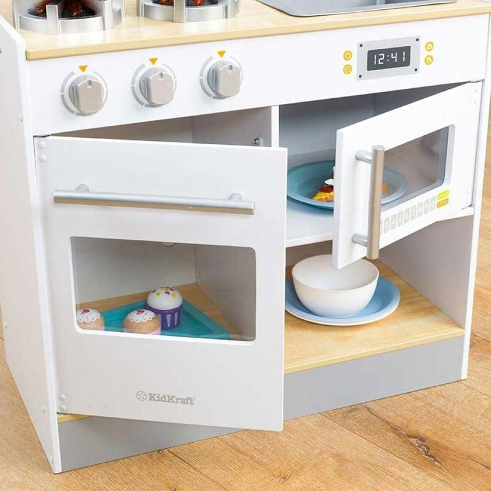 Kidkraft Let S Cook Wooden Play Kitchen Babystore Ae