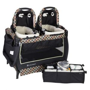 Baby Trend Black-Twins Nursery Center/Playpen, Circle Tech
