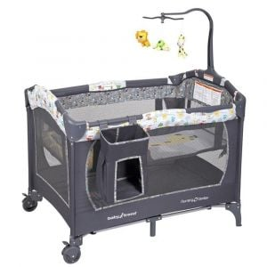 Baby Trend Grey Nursery Center/Playpen -Tanzania