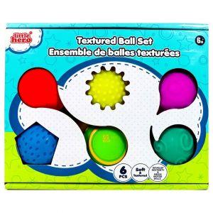 Little Hero Textured Ball Set