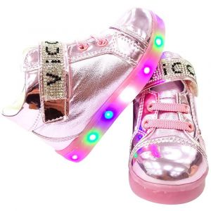 Vicco 220.V.150 Girl Light up Shoes - Pink
