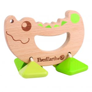 Ever earth Crocodile rattle toy