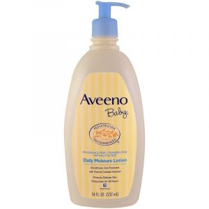 Aveeno Baby Fragrance Free Daily Moisture Lotion - 532ml