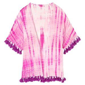 3C4G - Tie Dye Fuchsia Kimono