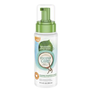Seventh Generation Coconut care Baby Foaming Shampoo & Wash