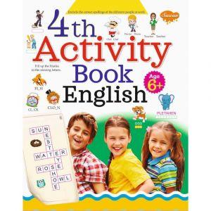 Sawan 4th Activity Book - English