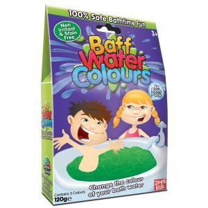 Zimpli Kids Baff Water Colors Bath Time Fun - 6 pc