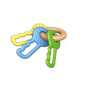 Begin Again Green Ring Teether