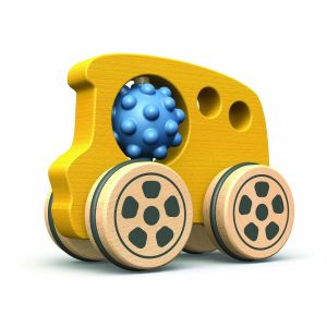 Begin Again Nubble Rumblers Bus Wooden Toy