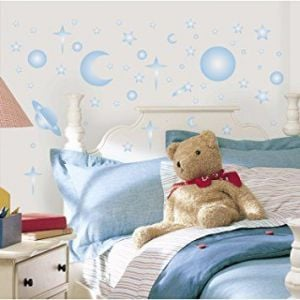 RoomMates Celestial Peel & Stick Wall Decals Glow in the dark