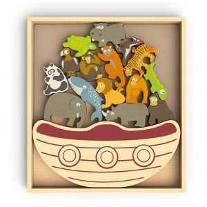 Begin Again Balance Boat Endangered Animals