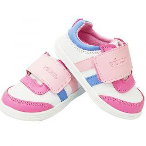 Vicco 854.18Y.042 Girl Sandal - White-Pink