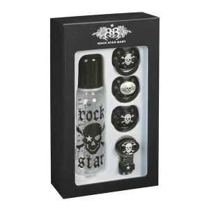Rock Star Baby Pirate Skull 5 Piece Gift Set