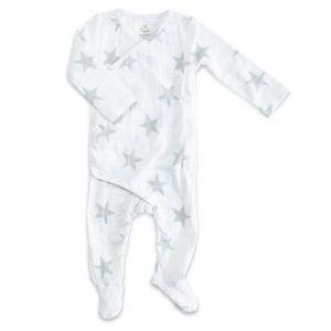 Aden+Anais Micro Chop Star Long Sleeve Kimono One Piece