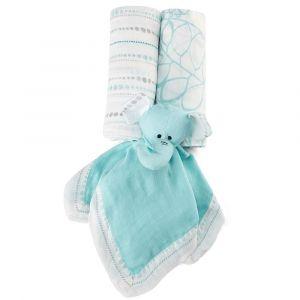 Aden+Anais Azure Silky Soft Gift Set