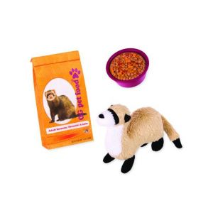 Our Generation Kid's Pet Ferret Set