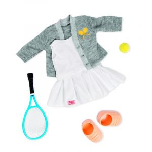 Our Generation Kid's Retro Tennis Outfit