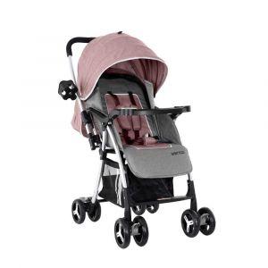 Baby Plus Stroller Cum Pram - Khaki & Grey