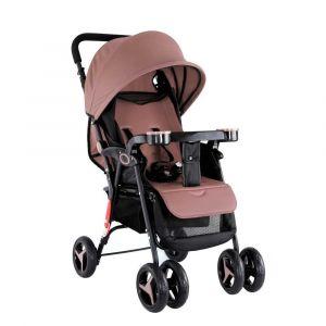 Baby Plus Stroller Cum Pram - Khaki