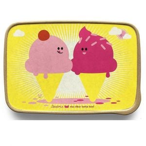 BeatrixNY Dolce & Panna The Ice Creams Rice Fiber Bento Box