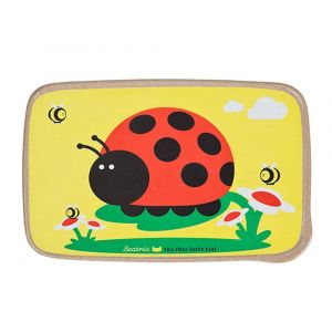 BeatrixNY Juju The Ladybug Rice Fiber Bento Box