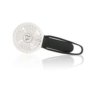 Buggygear Black White 3 Speed Rechargeable Fan
