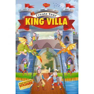 Sawan Create Your King Villa Sticker Activity Book