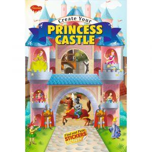 Sawan Create Your Princess Castle Sticker Activity Book