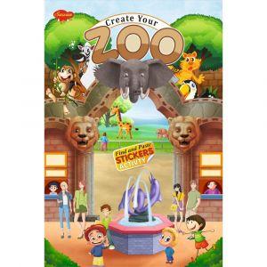 Sawan Create Your Zoo Sticker Activity Book