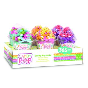 Style Me Up Candy Pop to Go Cones - Purple - Activity Toys