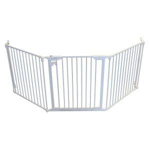 Cardinal Gates White Expanda Gate