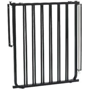 Cardinal Gates Black Outdoor Safety Gate