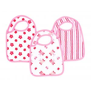 Aden + Anais Classic 3-Pack Snap Bibs Princess Posie