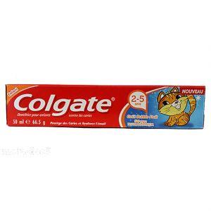 Colgate Junior Bubble Fruit Flavour Toothpaste - 50ml