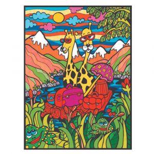 Colorvelvet Large Giraffe Colouring Kit