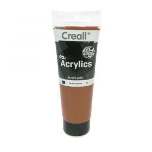 Creall Acrylics Studio Tube - 67 Burnt Sien
