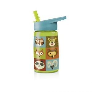 Crocodile Creek Jungle Jamboree Tritan Drinking Bottle 450ml