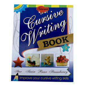 Sawan Cursive Writing Book 2 - Children's Book