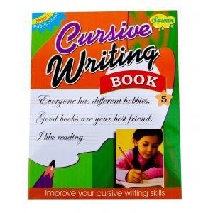 Sawan Cursive Writing Book 5 - Children's Book