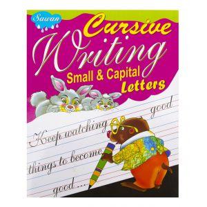 Sawan Cursive Writing Small & Capital Letters - Children's Book