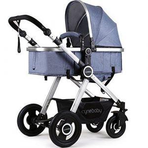 Cynebaby Anti Shock Stroller - Blue