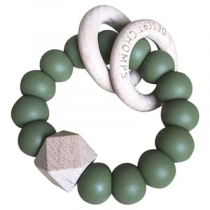 Desert Chomps Olive Green Autumn Collection Teether