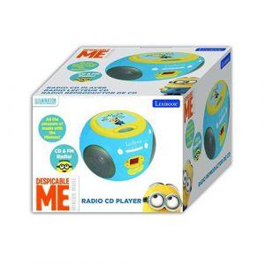 Despicable Me Lexibook Radio CD Player - Kids Toys