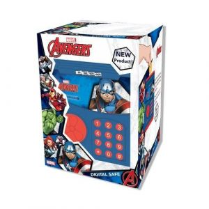 Gw Connect Digital Safe- Captain America - Toddler Toys