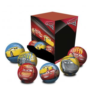 Disney Cars Assorted Ball - 6cm Inflated In Display Box