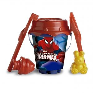 Disney Spiderman Ultimate Bucket With 2 Molds