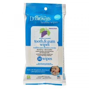 Dr Browns Tooth & Gum Wipes - 30pcs