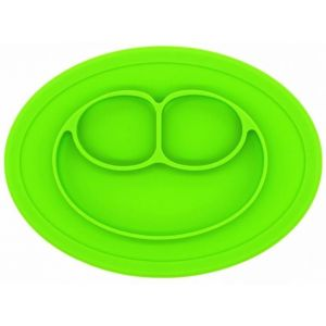 Eazy Kids Green Oval Plate