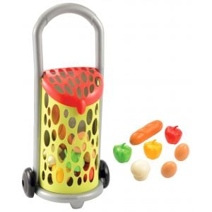 Ecoiffier 100% Chef Garnished Shopping Trolley Toy