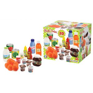 Ecoiffier 100% Chef Pack Drive Set 20Pcs Toy